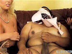 Alura Jenson gets a bit insane and starts to smack